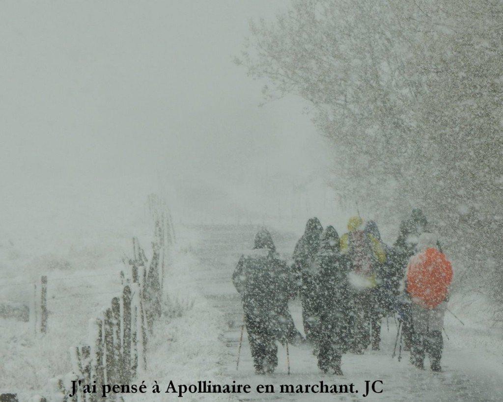 1_Le groupe et un peu de neige
