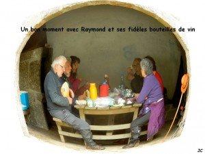 bon appétit et Raymond avait apportér les vins
