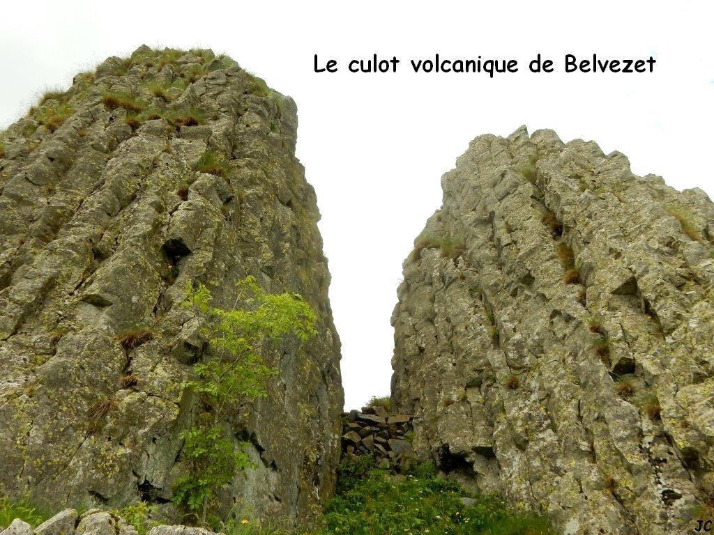 culot volcanique de belvezet