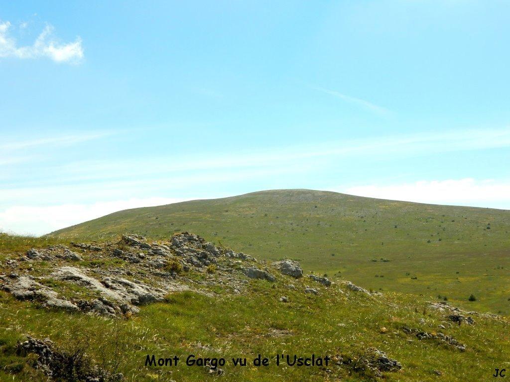 Mt Gargo vu de l'usclat
