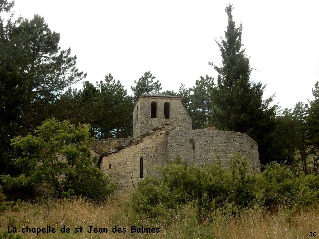 chapelle de st jean de balmes, autre côté