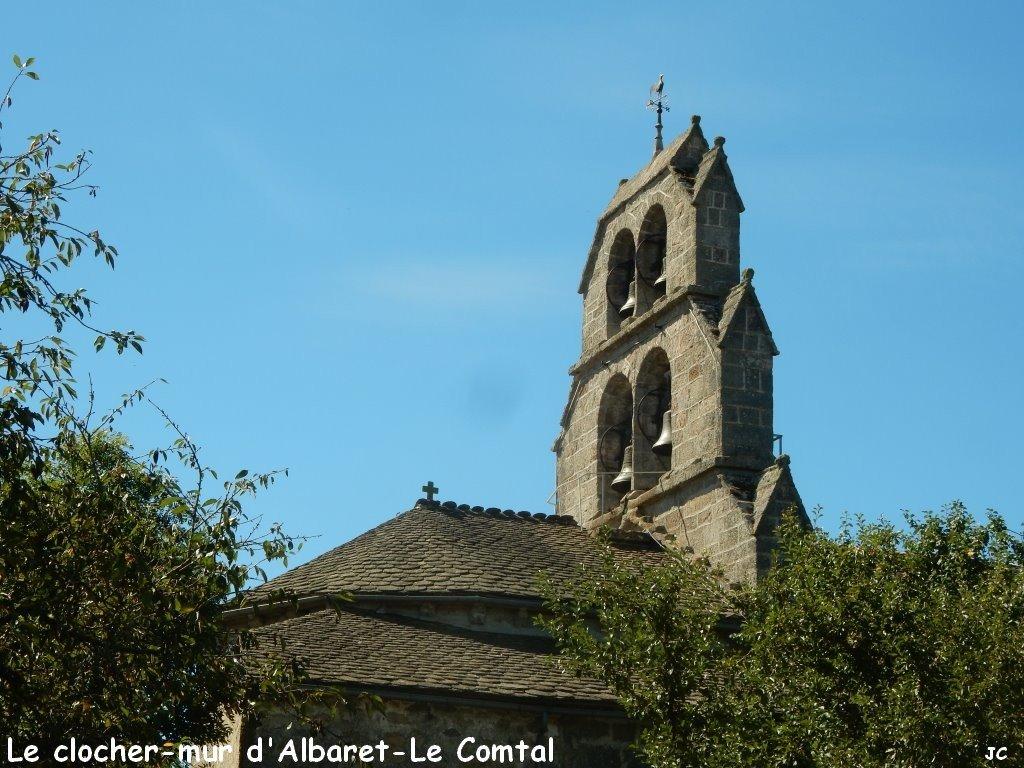 le clocher mur d'albaret le comptal (1)