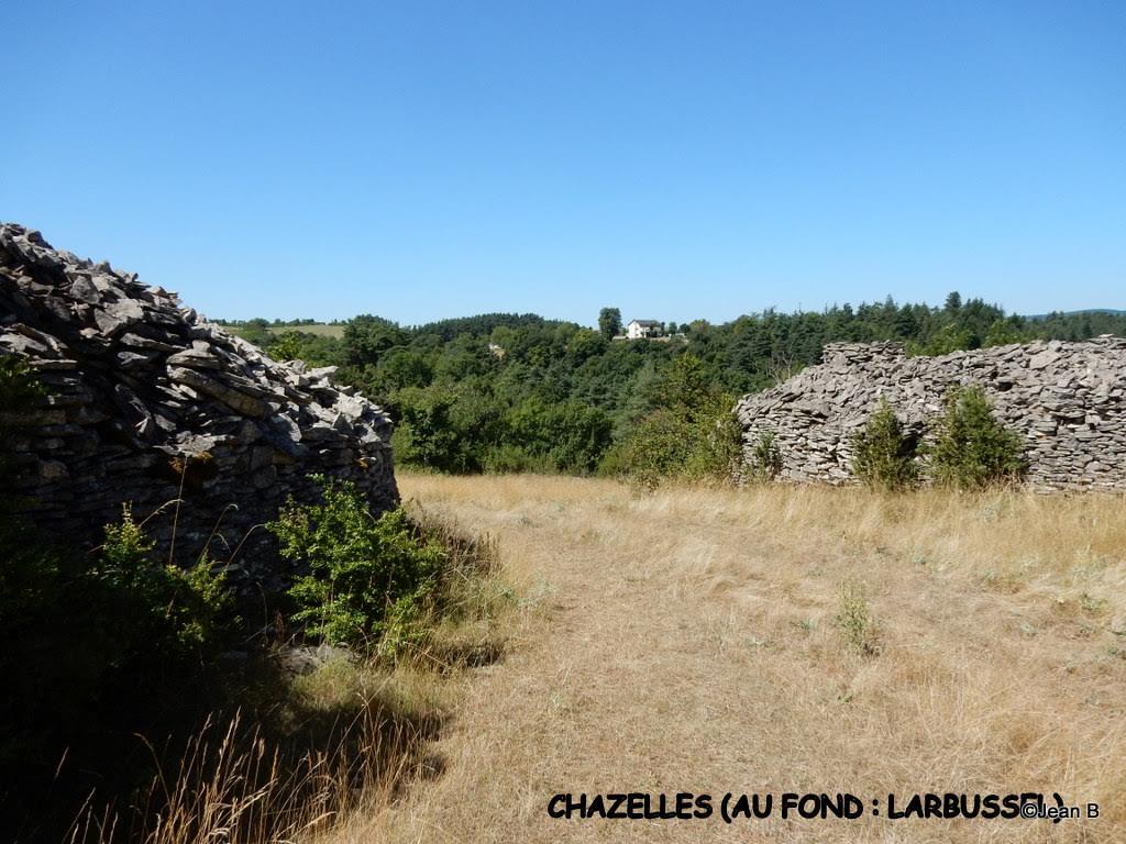 CHAZELLES (AU FOND : LARBUSSEL)